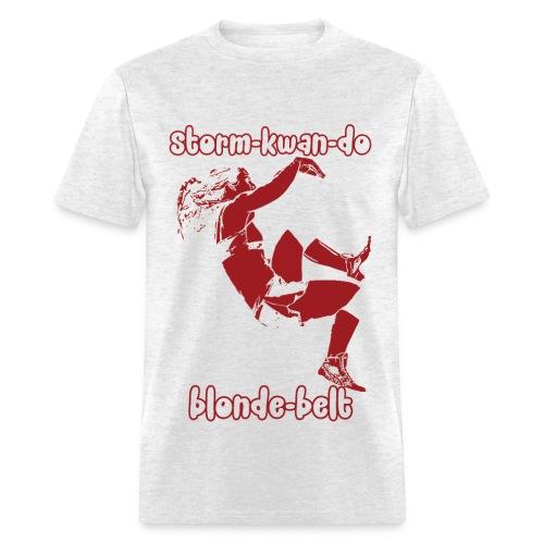 Storm - Blonde Belt - Men's T-Shirt