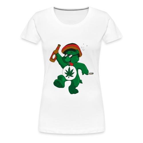 Chronic Bear - Women's Premium T-Shirt