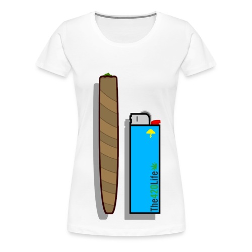SpliffNLighter - Women's Premium T-Shirt