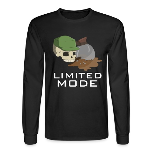 Coffee Limited Mode Long Sleeve - Male - Men's Long Sleeve T-Shirt