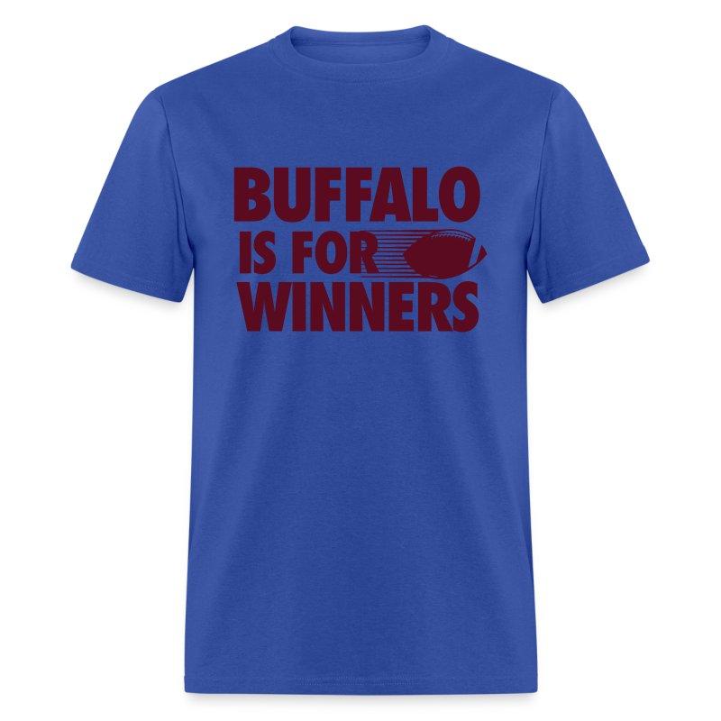 Buffalo winners t shirt spreadshirt for Custom t shirts buffalo ny
