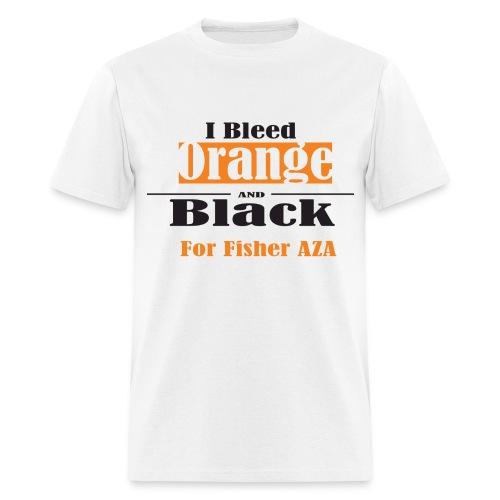 I Bleed Orange and Black - Men's T-Shirt
