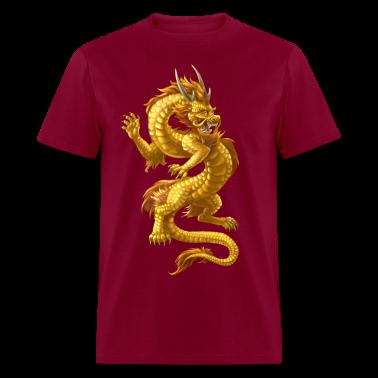 Chinese Dragon T Shirt Design