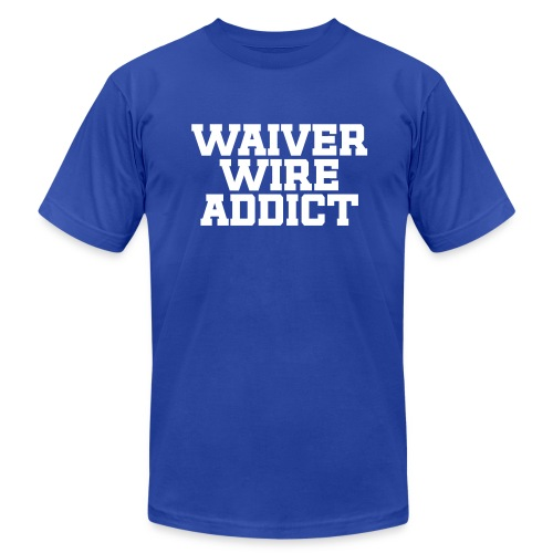 Waiver Wire Addict - Men's Fine Jersey T-Shirt