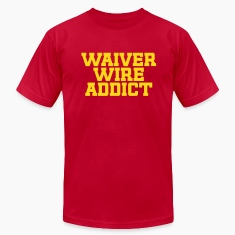 Waiver Wire Addict (Green & Yellow)