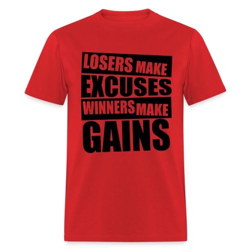 Excuses shirt - Men's T-Shirt