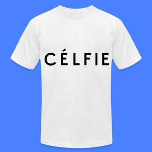 Celfie T-Shirts - Men's T-Shirt by American Apparel