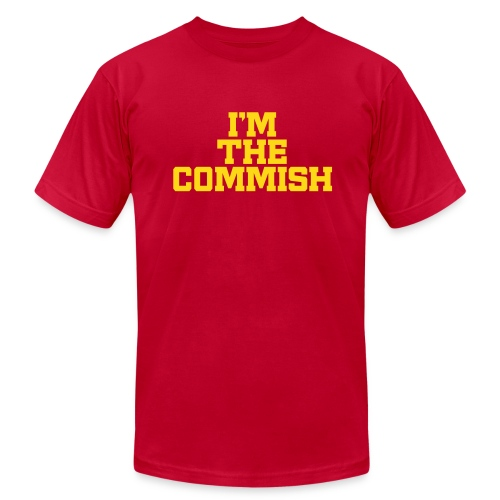 I'm the Commish - Men's Fine Jersey T-Shirt