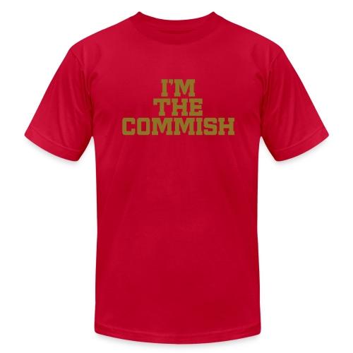 I'm the Commish (Metallic Gold) - Men's  Jersey T-Shirt
