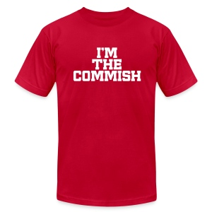I'm the Commish - Men's T-Shirt by American Apparel