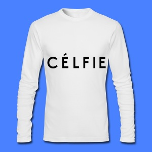 Celfie Long Sleeve Shirts - Men's Long Sleeve T-Shirt by Next Level