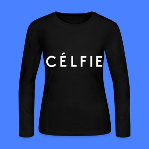 Celfie Long Sleeve Shirts - Women's Long Sleeve Jersey T-Shirt