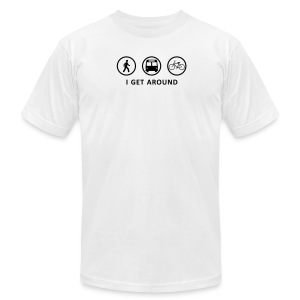 I Get Around (BK) - Men's Fine Jersey T-Shirt