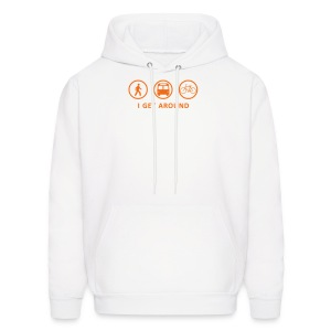 I Get Around (ORNG) - Men's Hoodie