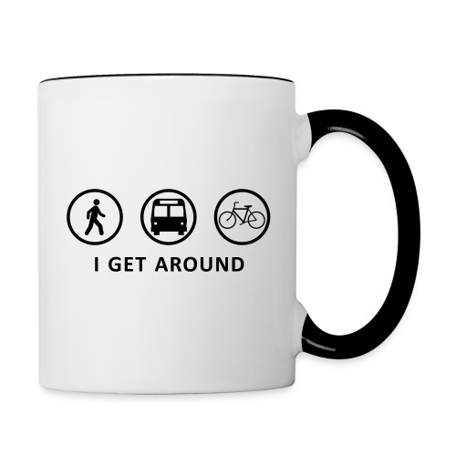 I Get Around (ORNG) - Contrast Coffee Mug