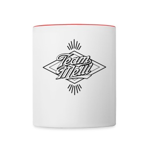 Team Melli - 2 color mug - Contrast Coffee Mug