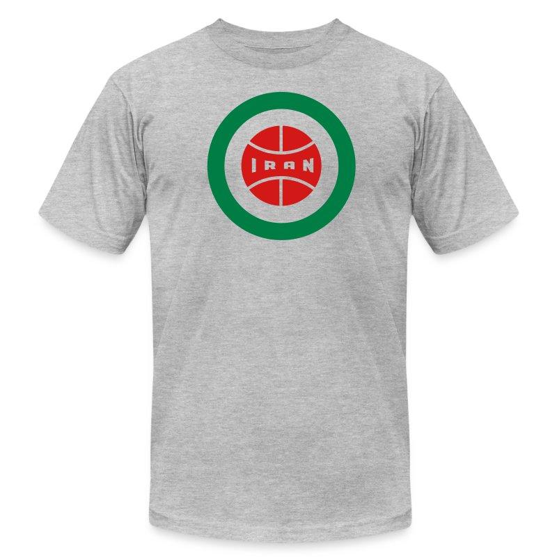 Iran Insignia - Tee - Men's Fine Jersey T-Shirt