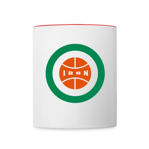 Iran Insignia - Cup - Contrast Coffee Mug
