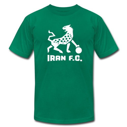 IRAN F.C. - Tee - Men's T-Shirt by American Apparel