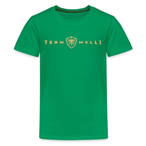 Team Melli Badge - Kids Tee - Kids' Premium T-Shirt