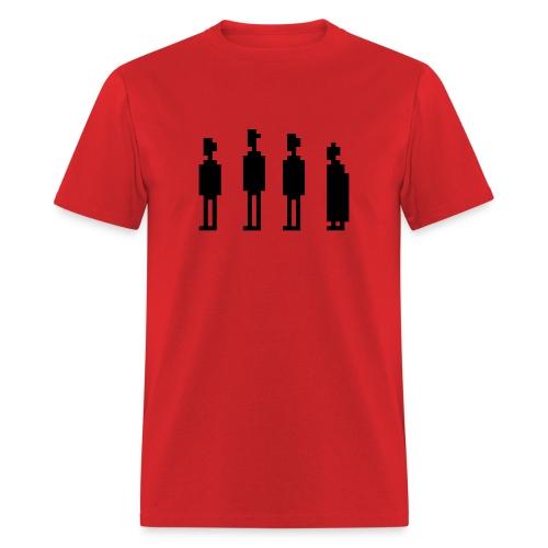 The Four Witnesses - Men - Red - Men's T-Shirt