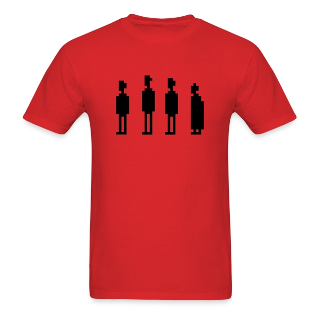 The Four Witnesses - Men - Red