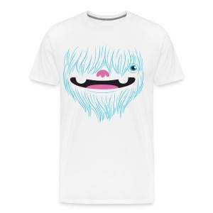 Happy Yeti Shirt - Men's Premium T-Shirt