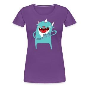 Monster Hearts You - Women's Premium T-Shirt