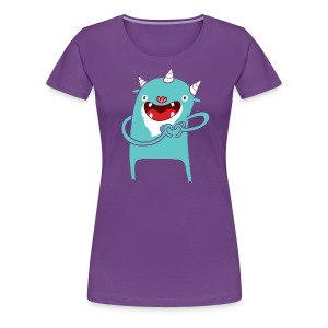 Monster Hearts You - Women's Premium T-Shirt