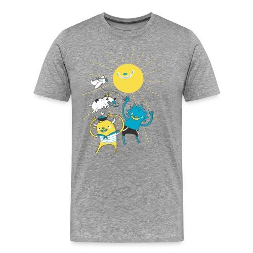 Nice Day to Play - Men's Premium T-Shirt