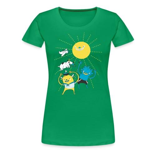 Nice Day to Play - Women's Premium T-Shirt