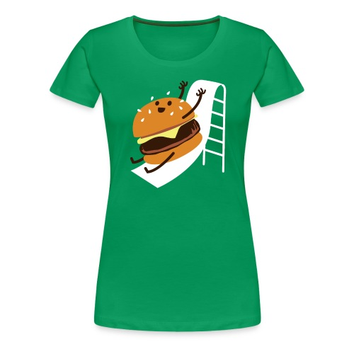 Slider Burger! - Women's Premium T-Shirt
