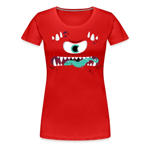 One-Eyed Monster - Women's Premium T-Shirt