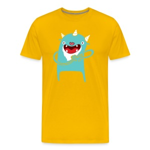 Monster Hearts You - Men's Premium T-Shirt