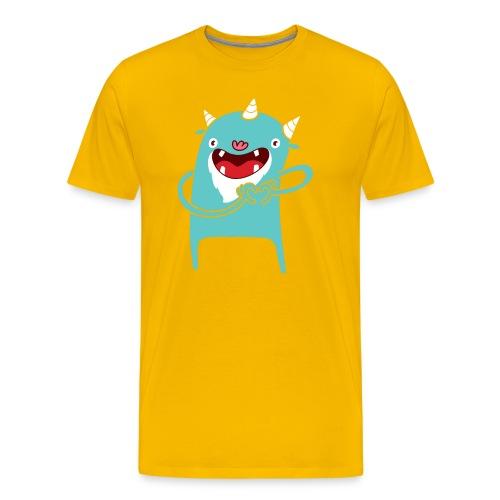 Monster Hearts You - Men's Premium T-Shirt