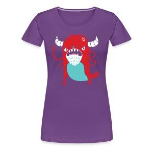 Monster Nagging - Women's Premium T-Shirt