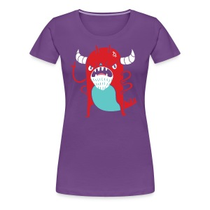 Monster Nagging - Women's Premium T-Shirt
