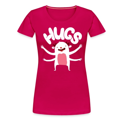 Monster Hugs - Women's Premium T-Shirt