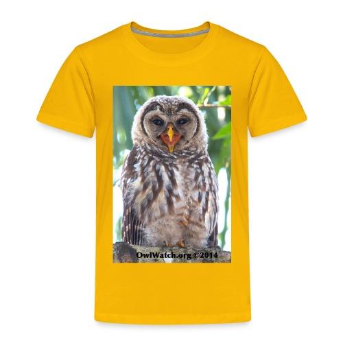 Laughing Owlet - Toddler Premium T-Shirt