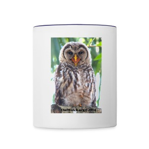 Laughing Owlet - Contrast Coffee Mug
