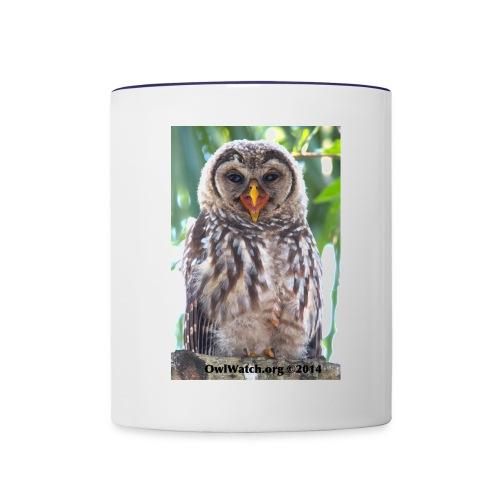 Laughing Owlet - Contrast Coffee Mug