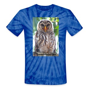 Laughing Owlet - Unisex Tie Dye T-Shirt