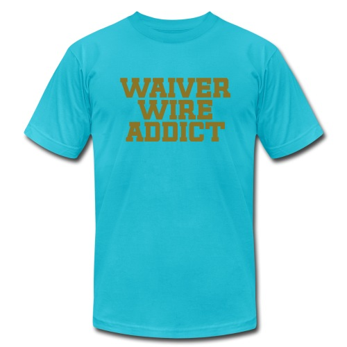 Waiver Wire Addict (Metallic Gold) - Men's  Jersey T-Shirt