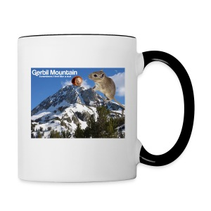 Myrr is a Nut Mug - Contrast Coffee Mug