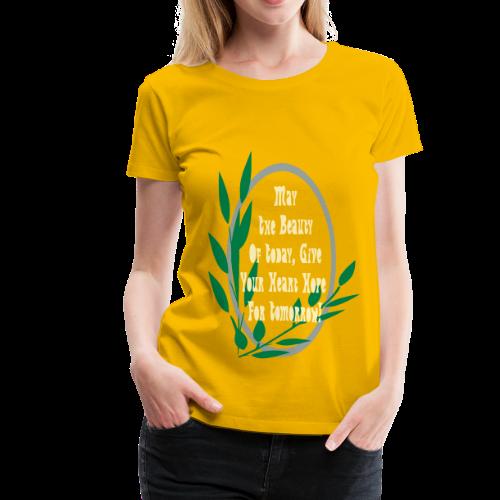 My Selfie - Women's Premium T-Shirt