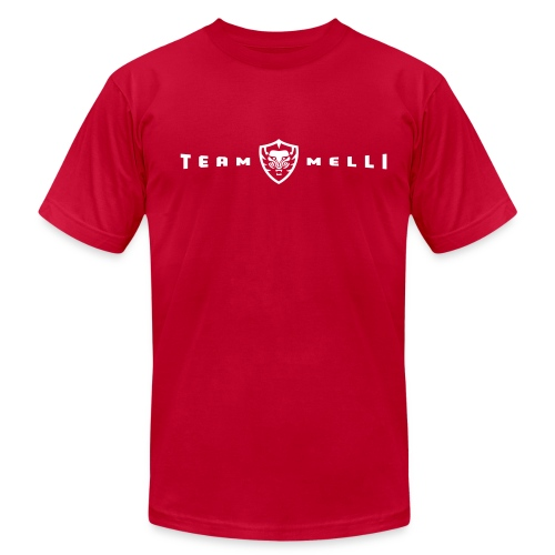 Team Melli Badge -  Tee - Men's Fine Jersey T-Shirt