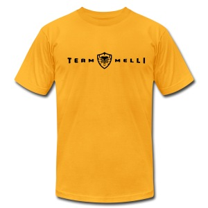 Team Melli Badge -  Tee - Men's T-Shirt by American Apparel