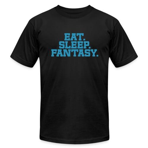 Eat. Sleep. Fantasy. - Men's Jersey T-Shirt