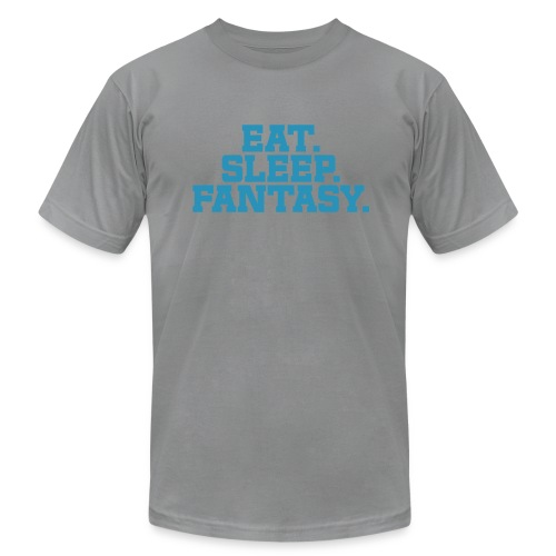 Eat. Sleep. Fantasy. - Men's  Jersey T-Shirt