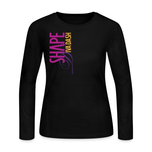 Diva Dash Script LS - Women's Long Sleeve Jersey T-Shirt